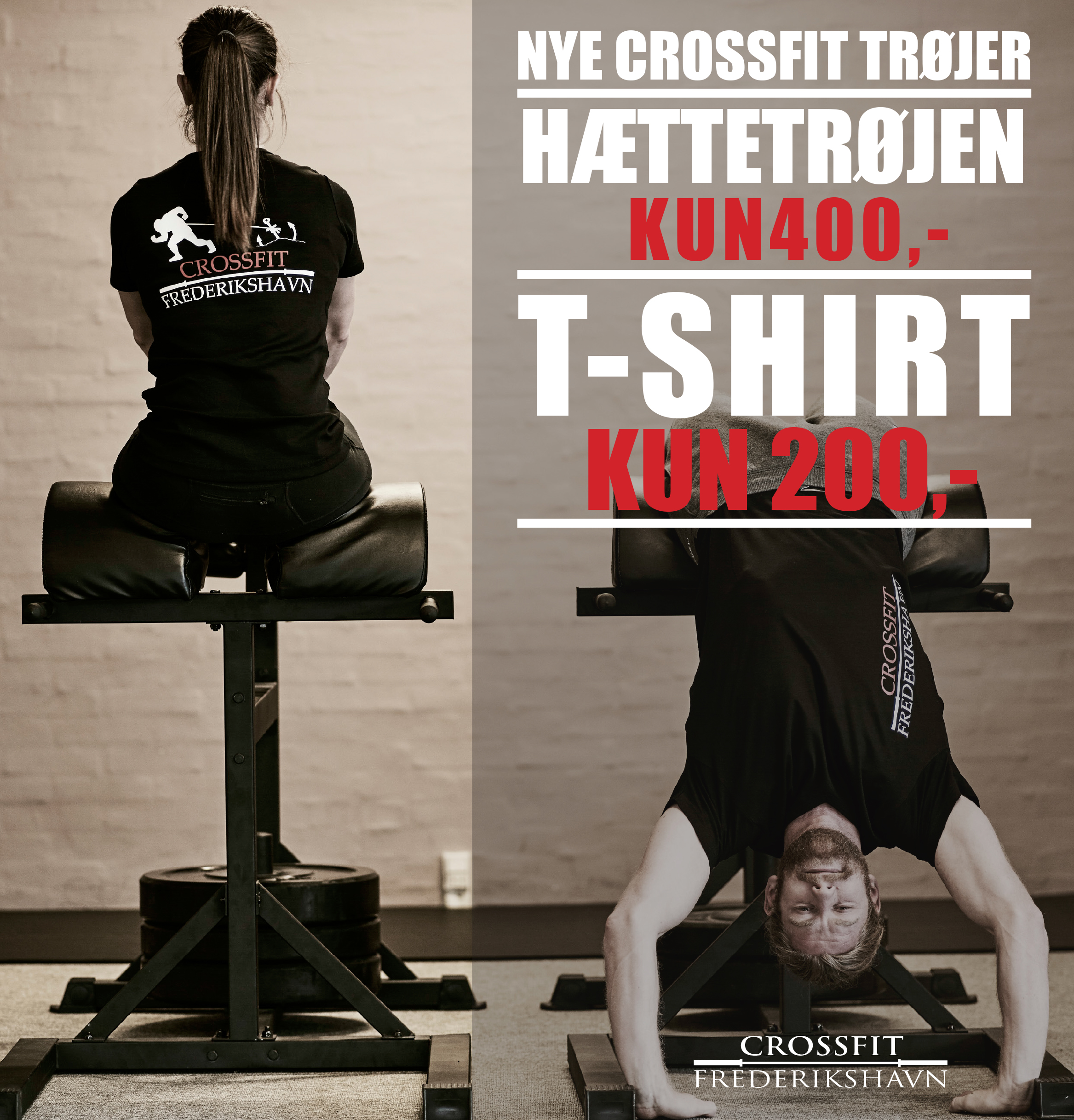 CrossFit Frederikshavn T-shirts