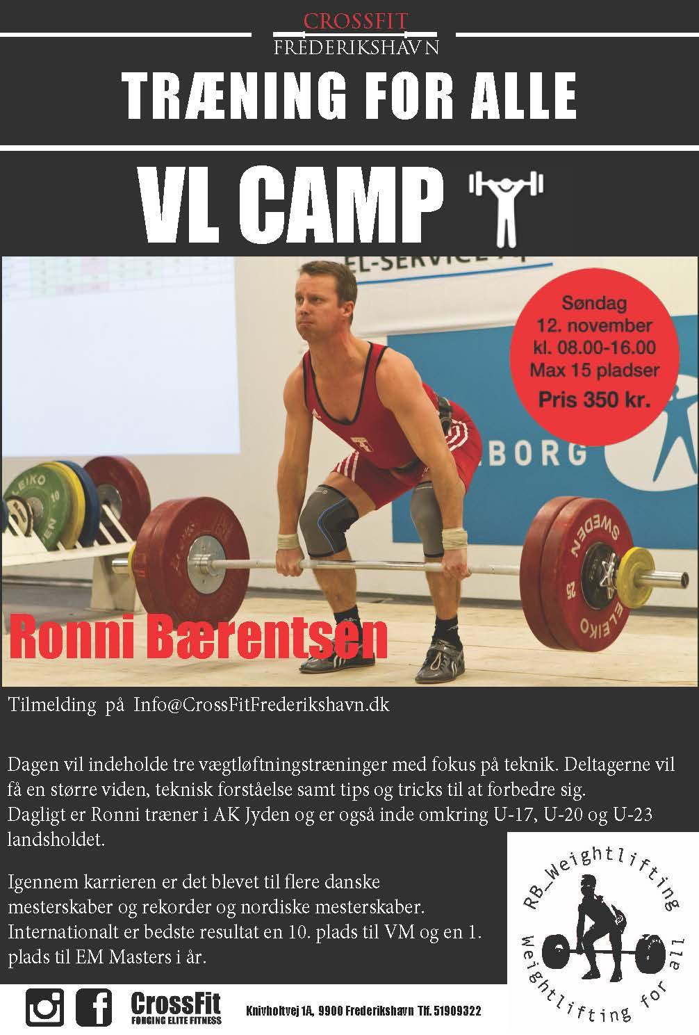 VL - camp CrossFit Frederikshavn